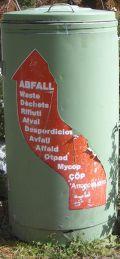 Saas-Fee Allalin: Rifiuti - Abfall