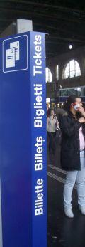 Svizzera in treno - Schweiz mit dem Zug: Biglietti - Tickets