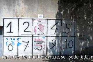uno, due, tre, quattro, cinque, sei, sette, otto, nove, dieci