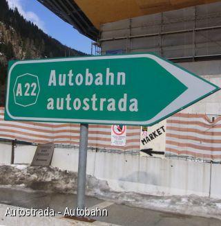Autostrada - Autobahn