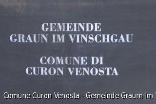 Comune Curon Venosta - Gemeinde Graum im Vinschgau