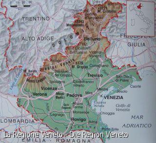 La Regione Veneto - Die Region Veneto
